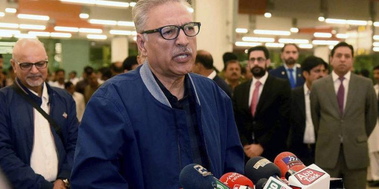 Presidente de Pakistán dice que el país no establecerá relaciones diplomáticas con Israel
