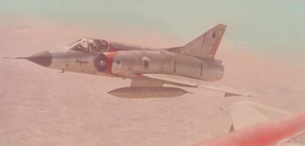 Aviones de la IAF en la guerra de Yom Kipur (Foto: Portavoz de la FID)