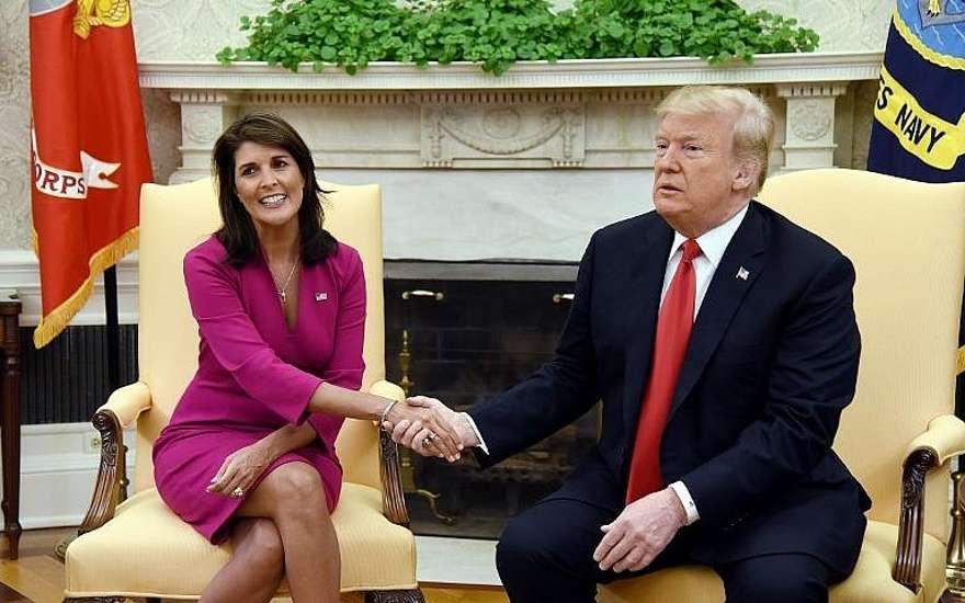 En movimiento sorpresivo, Nikki Haley renuncia como embajadora de Estados Unidos ante la ONU