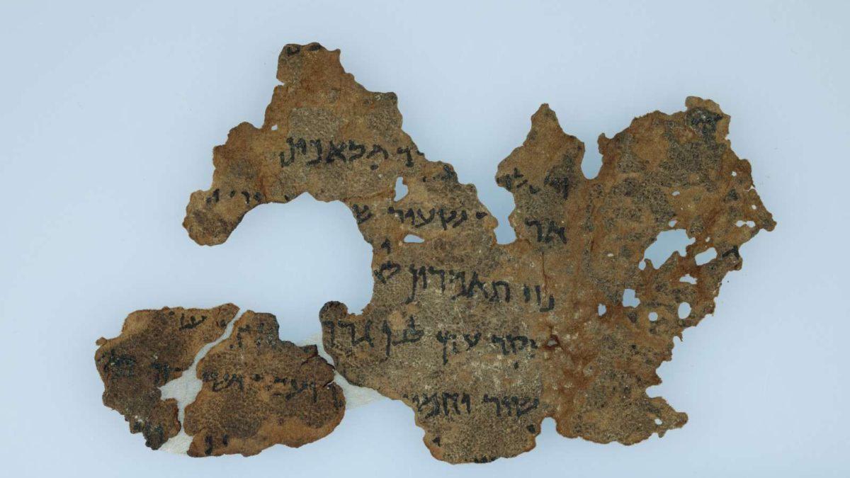 Análisis de ADN de los Rollos del Mar Muerto revela su una vez secreto origen
