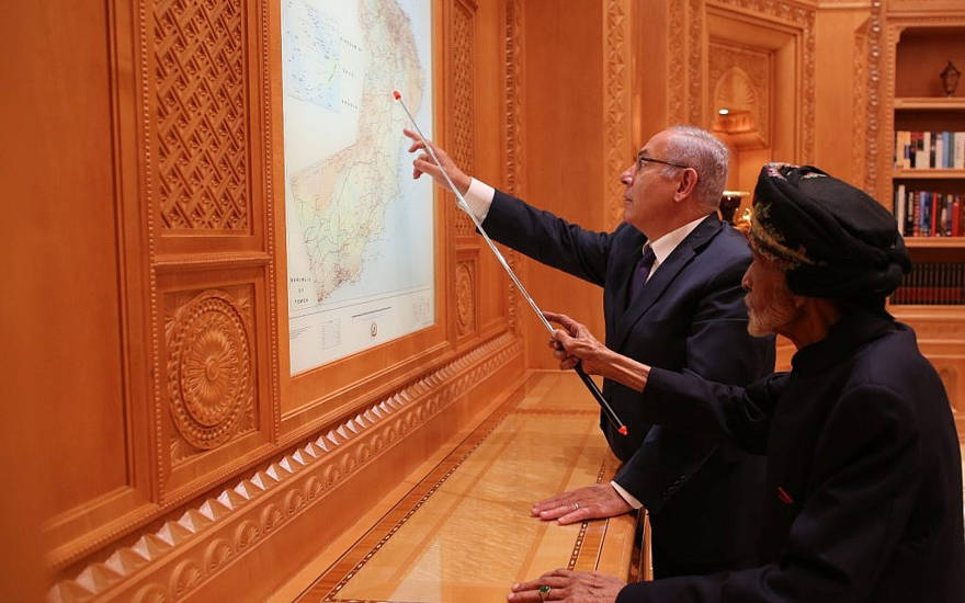 ¿Está Irán detrás de la histórica visita de Netanyahu a Omán?