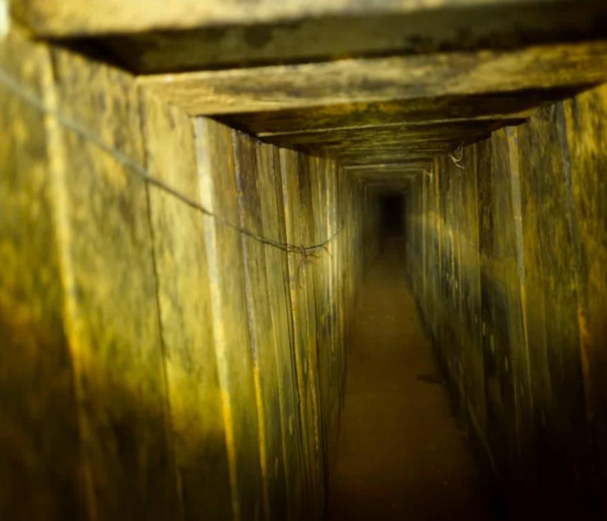 FDI destruye túnel terrorista de Hamas que penetró 200 metros en Israel