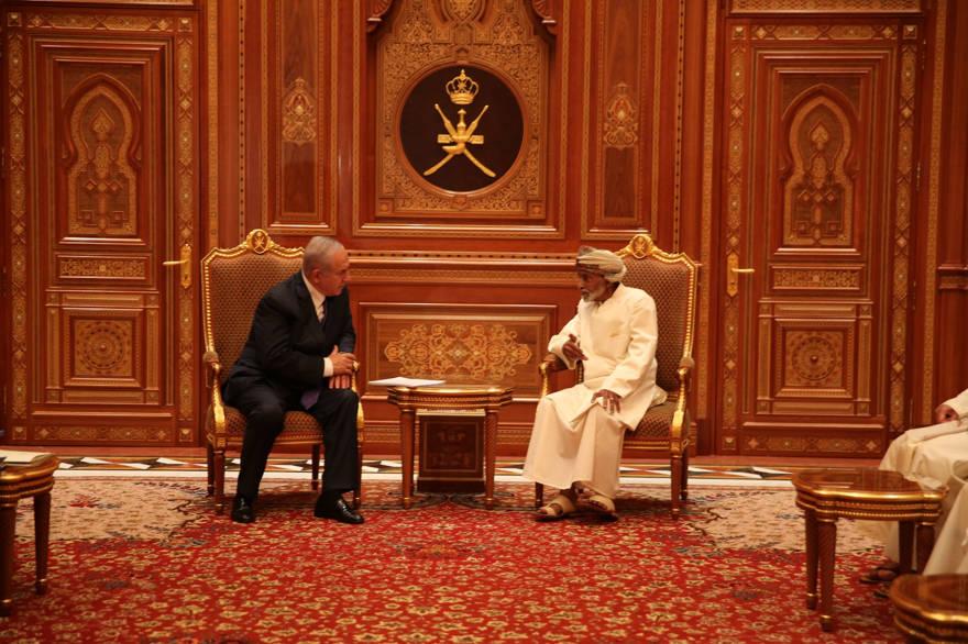 Netanyahu visita en secreto Omán, país con el que Israel no tiene relaciones diplomáticas