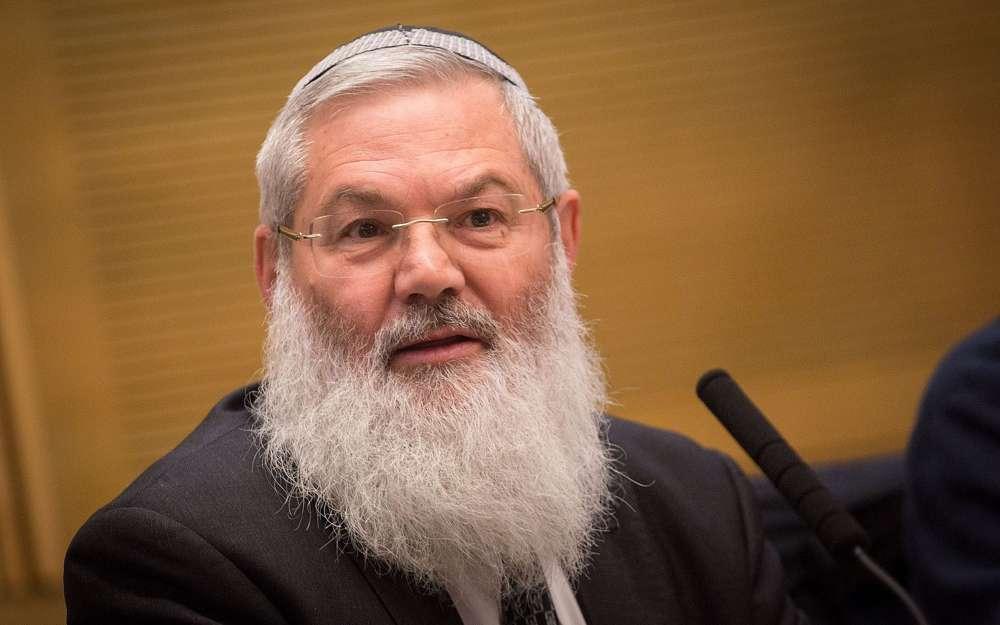 El viceministro de Defensa, Eli Ben Dahan, habla durante una reunión del Comité de Asuntos Exteriores y Defensa de la Knesset el 19 de enero de 2017. (Hadas Parush / Flash 90)