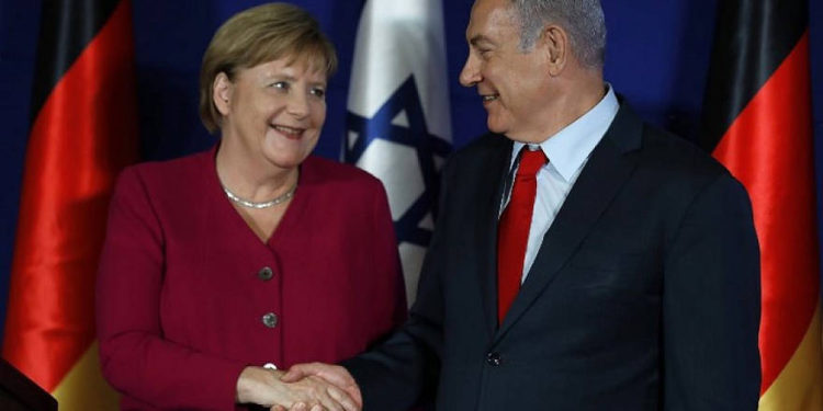 """El """"espectacular"""" legado judío de la canciller alemana, Angela Merkel"""