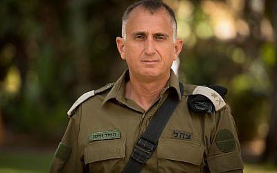 El mayor general Tamir Hyman, jefe de la Inteligencia Militar de las FDI, en una fotografía sin fecha. (Fuerzas de Defensa de Israel)