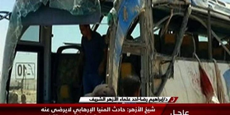 Egipto: terroristas islámicos matan a siete personas en bus que transportaba a peregrinos cristianos