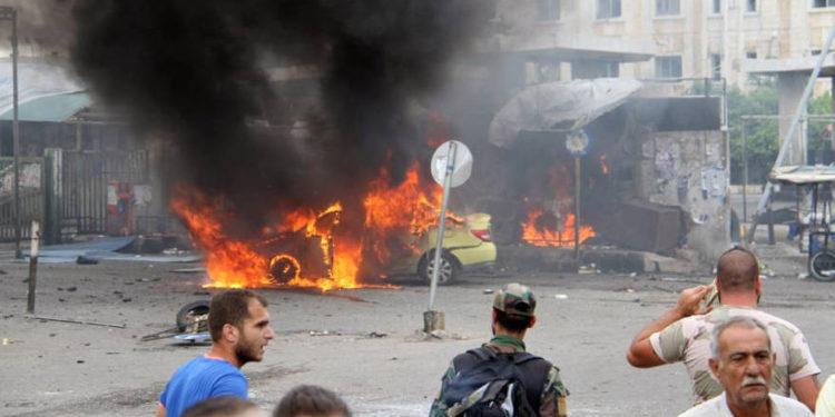 Estado Islámico ataca a la ciudad de Raqqa en Siria con un coche bomba