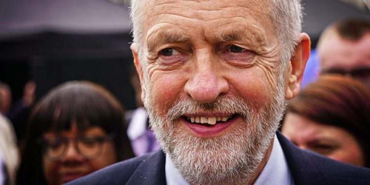 Jeremy Corbyn, líder sindical del Reino Unido. Crédito: Gary Knight / Flickr.