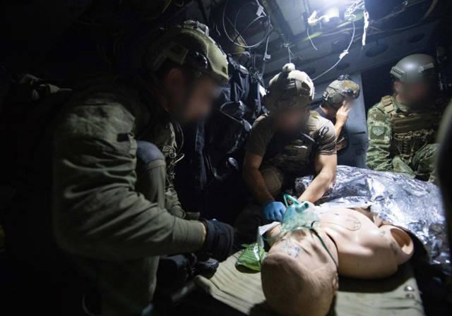 Sky Angels 2018, unidad de élite IAF 669 ejercicio de rescate internacional (crédito de foto: unidad de portavoz de la FID)