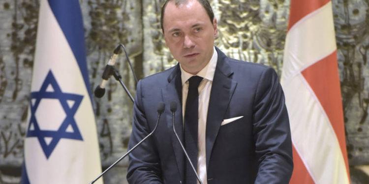 Ministro danés: Israel representa grandes oportunidades de aprendizaje y colaboración