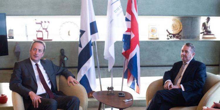 """Ministro de Comercio británico llega a Israel para discutir oportunidades después del """"Brexit"""""""