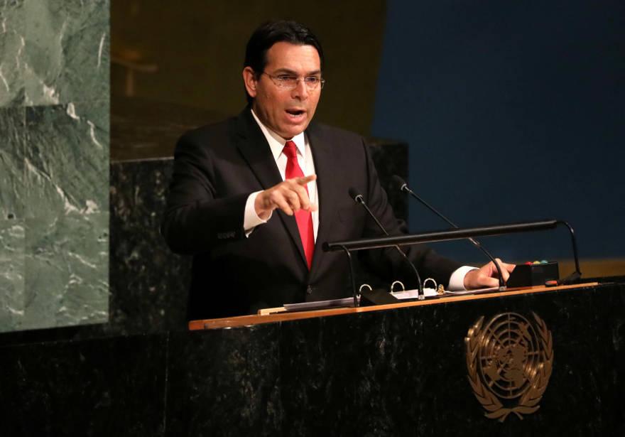 Danon: Autoridad Palestina trabaja para derrotar la resolución de la ONU que condena a Hamas