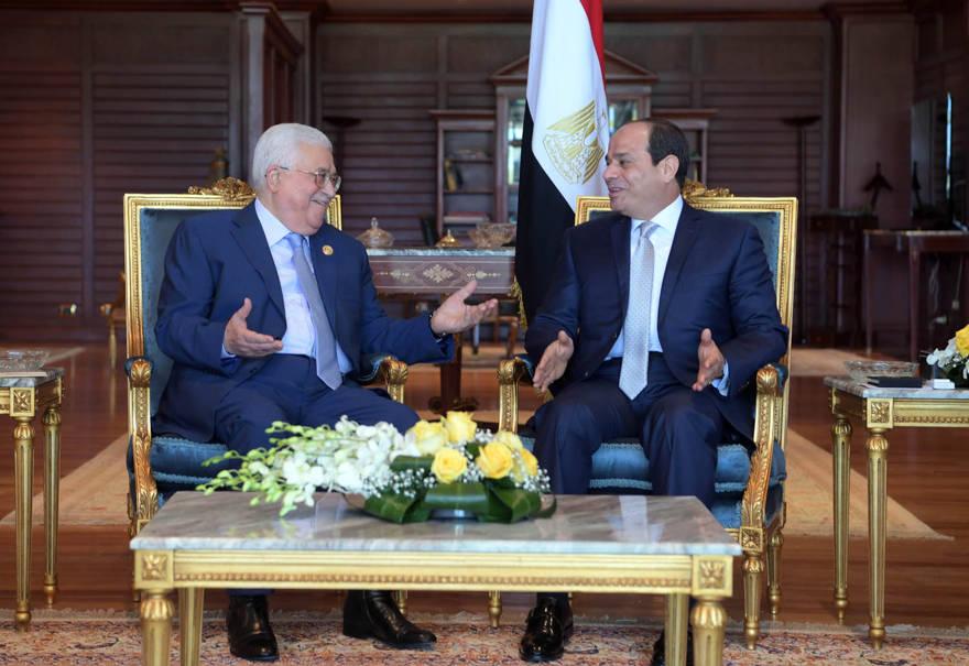 Abbas y el-Sissi se reúnen en un contexto de alto el fuego y esfuerzos de reconciliación