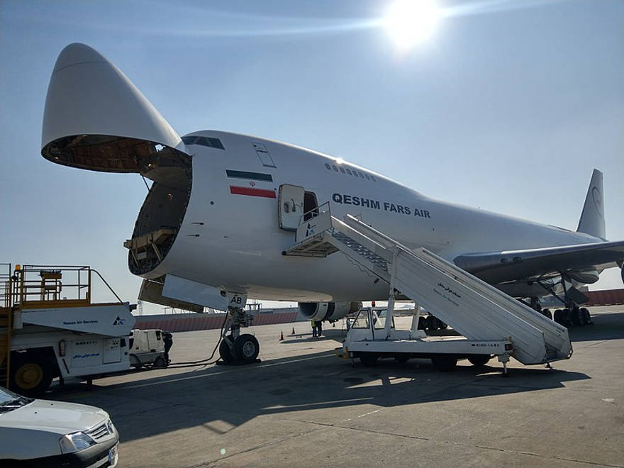 Imagen ilustrativa de un avión de carga Fars Air Qeshm (Wikimedia Commons)