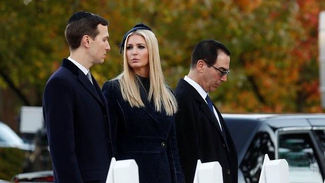 Jared Kushner (L) e Ivanka (Foto: Reuters)