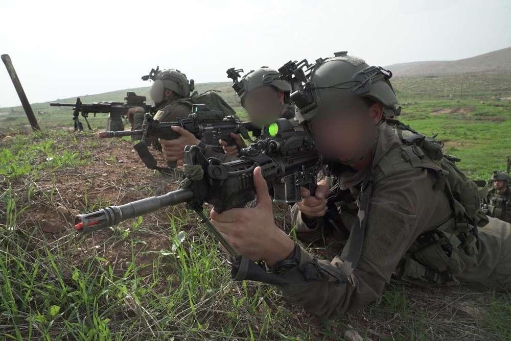 Soldados de la Brigada de Comandos de las FDI participan en un ejercicio de entrenamiento a gran escala en noviembre de 2018. (Fuerzas de Defensa de Israel)