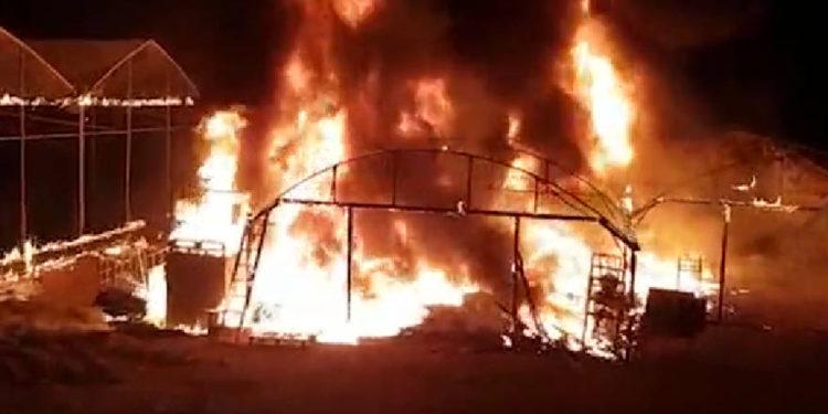 Terrorista palestino infiltrado desde Gaza incendia invernadero en comunidad israelí