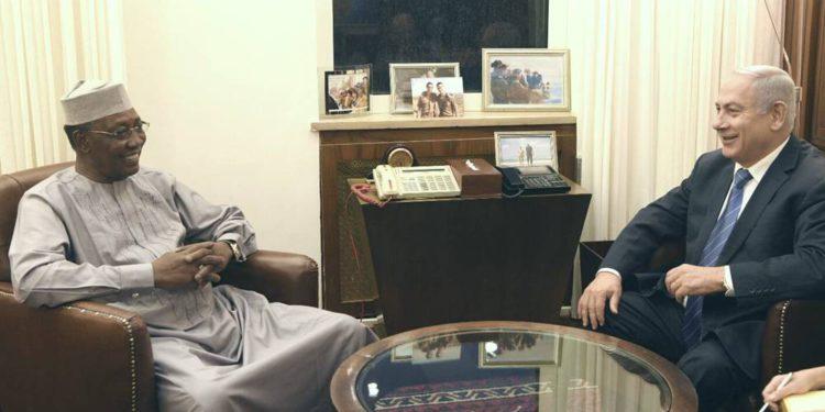 El presidente de Chad desea restablecer las relaciones diplomáticas con Israel