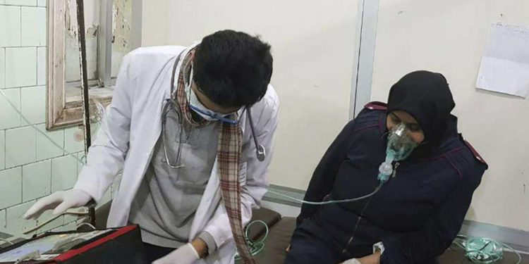 Decenas de heridos en Siria por presunto ataque con gas en Alepo controlada por el dictador Assad