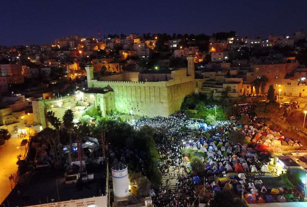 Decenas de miles de judíos acuden a la Tumba de los Patriarcas