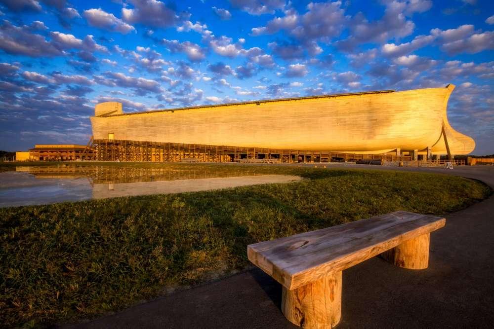 El Arca de Noé, la pieza central de The Ark Encounter, una atracción turística en Kentucky.Paul DeCesare
