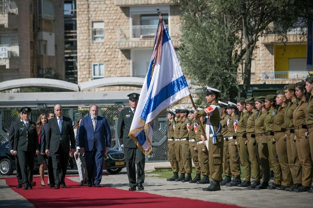 En Jerusalem, nuevos enviados de El Cairo y Ammán vuelven a comprometerse a la paz con Israel   Noticias de Israel
