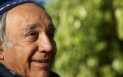 Moshe Zar, Ramat Gilad en Judea y Samaria. 14 de diciembre de 2011 (Kobi Gideon / Flash90)