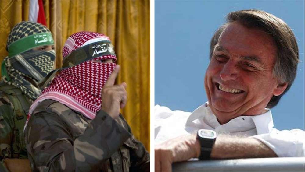 Hamás exige a Bolsonaro que no traslade embajada de Brasil a Jerusalem