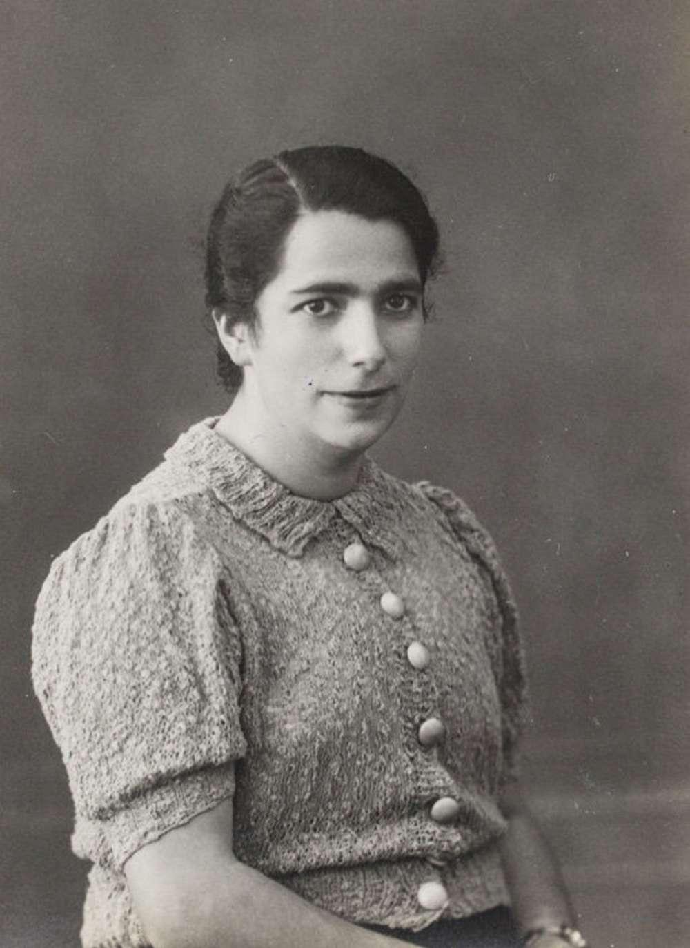 Ilse Bähr en Bassem, 1930s.Yad Vashem / Cortesía de Ruth Leshem