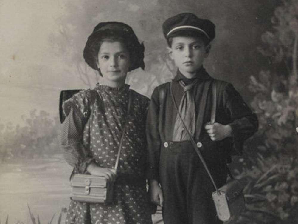 Ilse y Kurt, los hijos de Josephine y Leopold Bähr.Yad Vashem / Cortesía de Ruth Leshem
