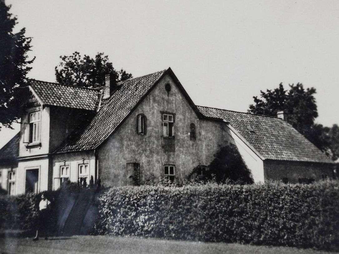 La casa de la familia Bähr en Bassum, Alemania, 1930s.Yad Vashem / Cortesía de Ruth Leshem