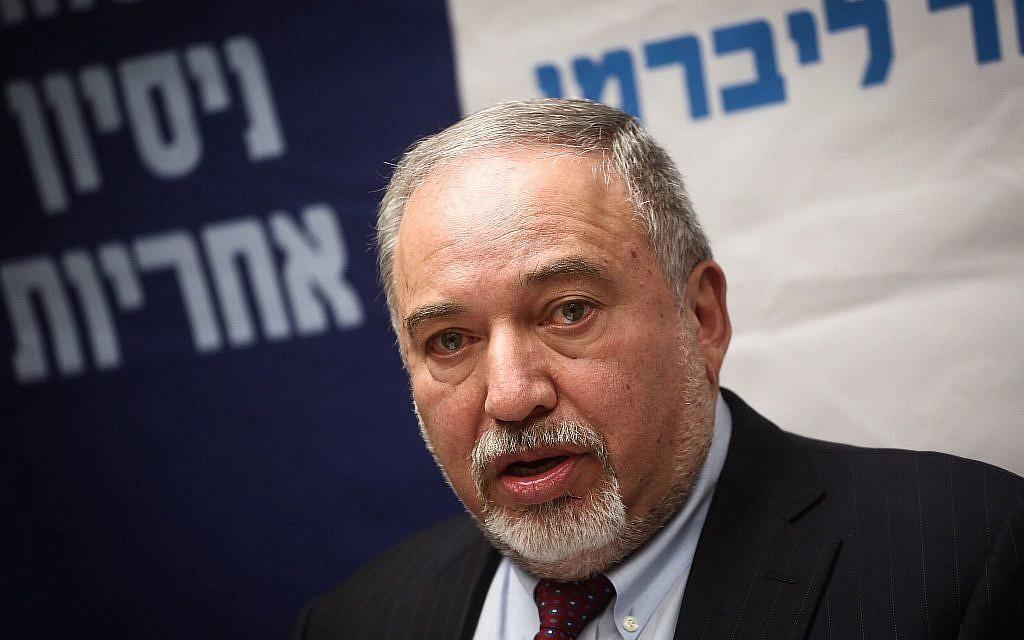 Ministro de Defensa Avigdor Liberman renuncia debido al acuerdo de alto el fuego con Hamas