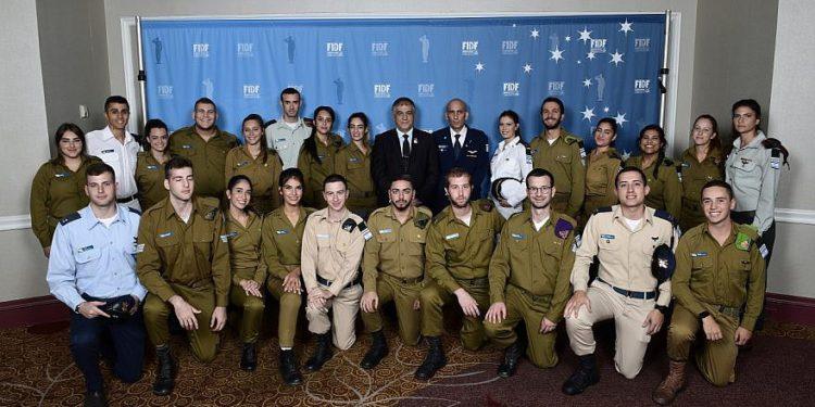 """""""Amigos de las FDI"""" recaudan $ 60 millones para soldados israelíes en gala de Los Ángeles"""