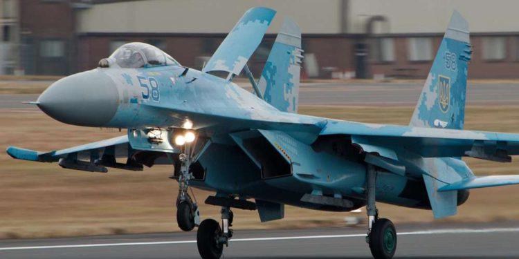 Sukhoi Su-27 se estrella y muere un piloto estadounidense en Ucrania