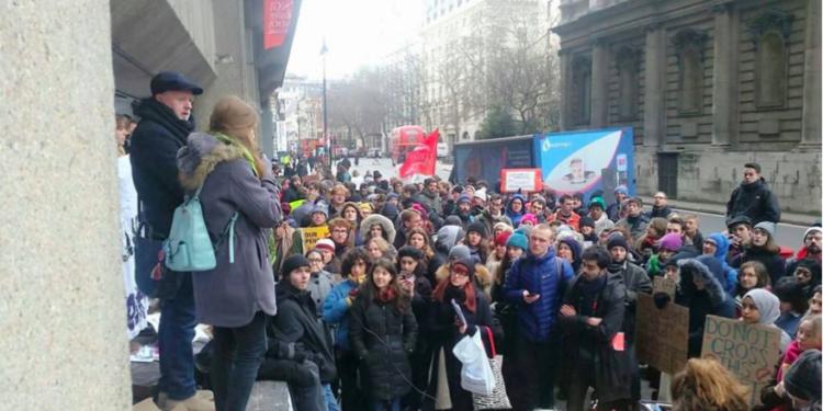 Sindicato de estudiantes del Reino Unido respalda protesta que conmemora a terroristas palestinos