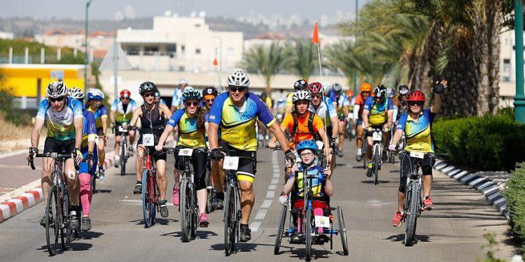 Ciclistas israelíes recaudan $ 3.5 millones para niños enfermos en evento anual de caridad deportiva