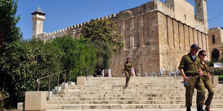 Palestino es arrestado cuando intentaba ingresar a la Cueva de los Patriarcas con un cuchillo