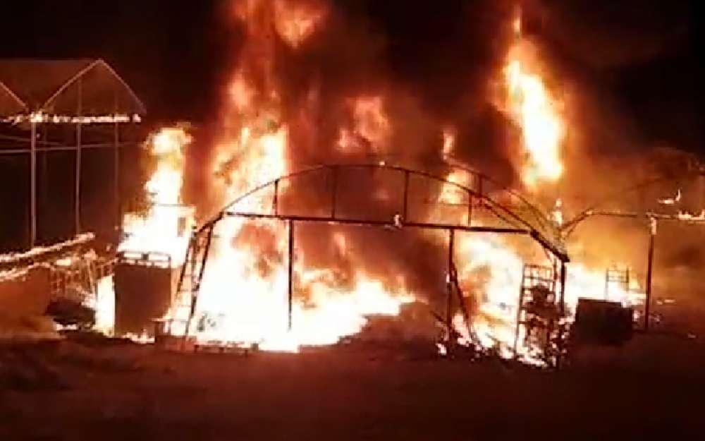Árabe infiltrado desde Gaza incendia invernadero en comunidad israelí