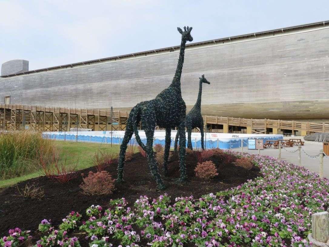 El Arca de Noé apareció en Kentucky y los ateos están enojados