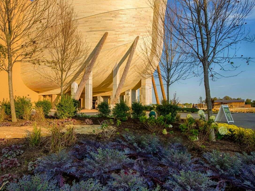 El arca de 155 metros de largo en un parque en el condado de Grant, Kentucky.Paul DeCesare