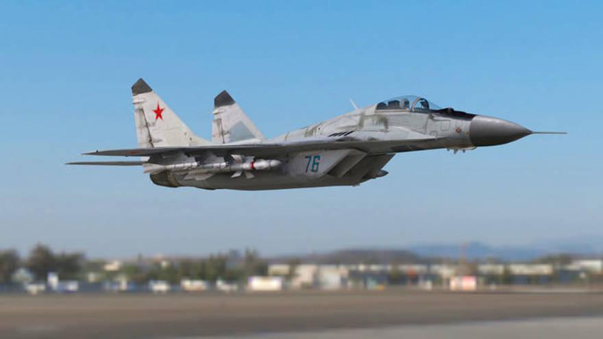 Avión de combate de fabricación rusa se estrella en Egipto