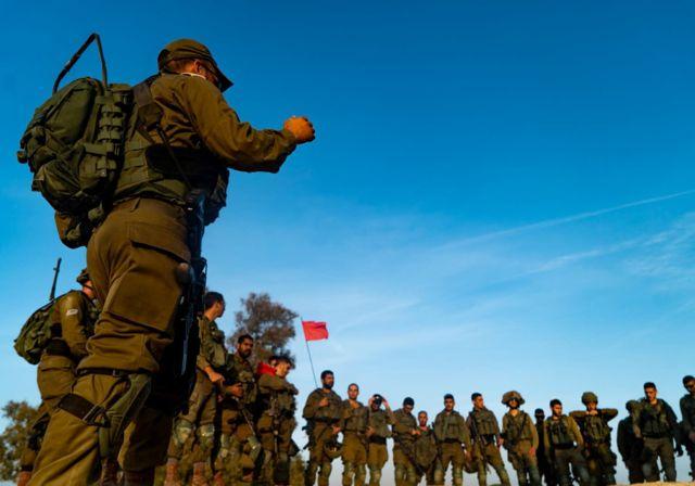 Ejercicios de entrenamiento de la Brigada IDF Kfir. (Crédito de la foto: IDF SPOKESMAN'S UNIT)