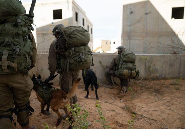 jercicios de entrenamiento de la Brigada IDF Kfir. (Crédito de la foto: IDF SPOKESMAN'S UNIT)