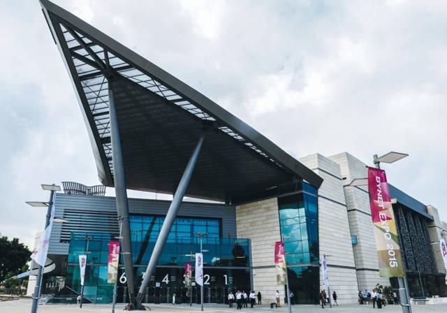 PAVILION 2, donde se llevará a cabo el principal concurso de Eurovisión .. (crédito de foto: UNIÓN EUROPEA DE TRANSMISIÓN)