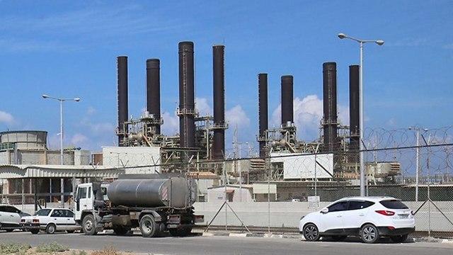 Planta de energía de Gaza (Foto: AFP)