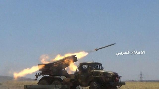 El equipo de combate de Hezbolá en acción.
