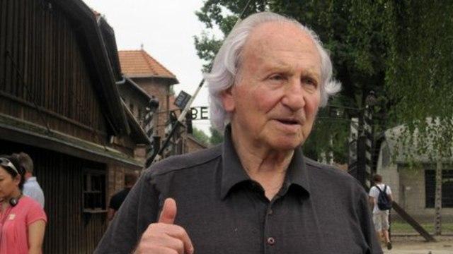Noah Klieger regresa a Auschwitz, décadas después de la liberación