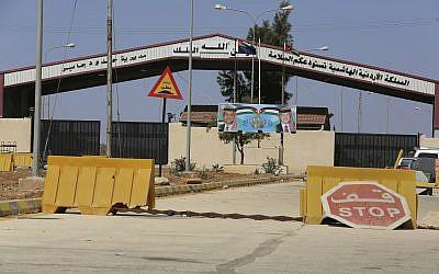 Un cruce fronterizo entre Siria y Jordania que se cerró durante más de tres años después de que los rebeldes tomaron el poder en el lado sirio el 29 de septiembre de 2018. (AP Photo / Raad Adayleh)