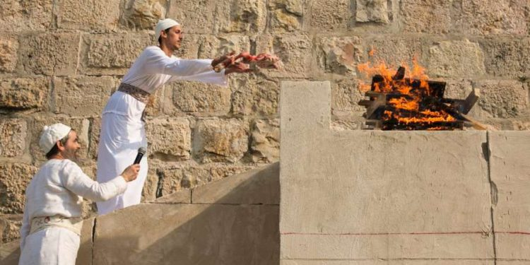 """Activistas del Monte del Templo celebran nuevo altar para """"practicar el sacrificio de animales"""""""